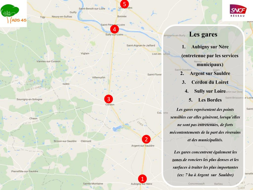SNCF - carte réseau